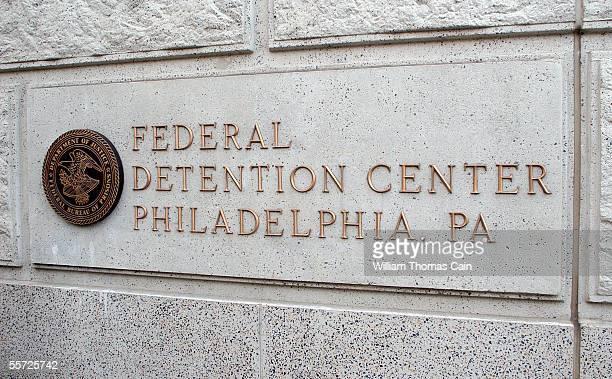 The Federal Detention Center where Lil' Kim began serving a 1 year prison sentence today is seen September 19, 2005 in Philadelphia, Pennsylvania.