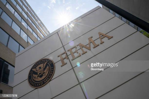 The Federal Emergency Management Agency headquarters in Washington, D.C., U.S. On Thursday, Aug. 27, 2020. President Trump is expected to receive a...