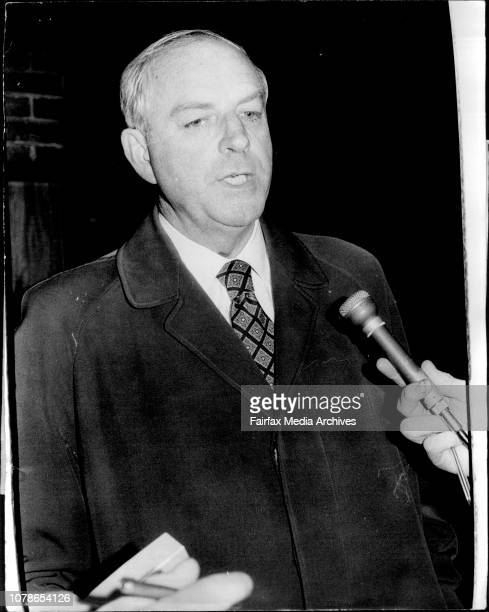 The Federal Minister for Education Mr KE Beazley who left Sydney today for the Commonwealth Nations Education Conference in Jamaica June 13 1974
