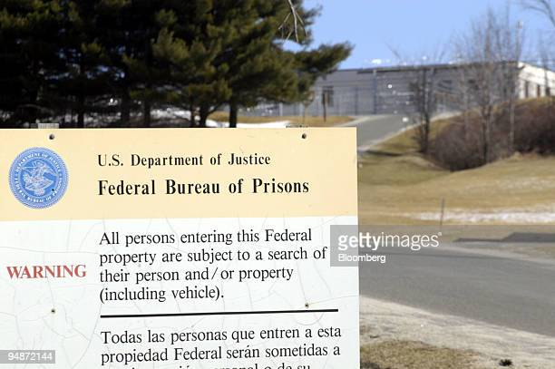 The federal prison at Danbury Connecticut is pictured on Thursday March 11 2004 Martha Stewart convicted of obstructing a US investigation of stock...