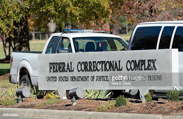 The federal prison in Butner North Carolina where Convicted Israel spy Jonathan Pollard was released from is seen on November 20 2015 in Butner North...