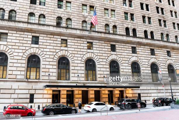 Federal Reserve Bank Of New York Stock Pictures Royalty Free
