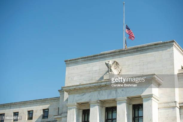 The Federal Reserve building is pictured on Tuesday August 6, 2019.