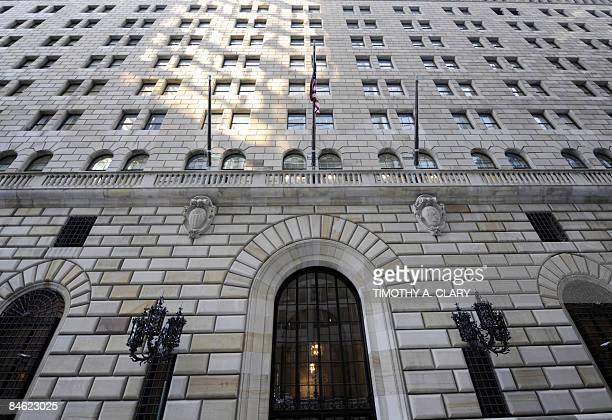 The Federal Reserve Building is seen in Lower Manhattan in New York City on February 4 2009 President Barack Obama was Wednesday set to clamp a half...