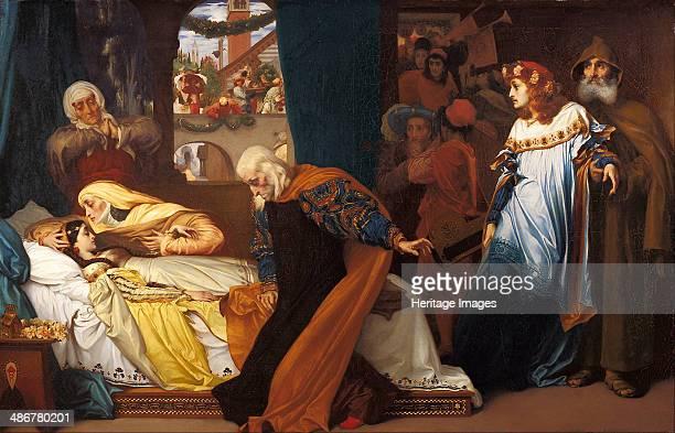 The feigned death of Juliet 18561858 Artist Leighton Frederic 1st Baron Leighton