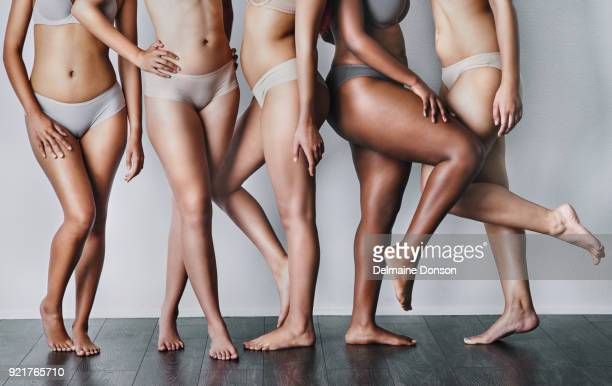 the female body is beautiful no matter the figure - leg stock pictures, royalty-free photos & images