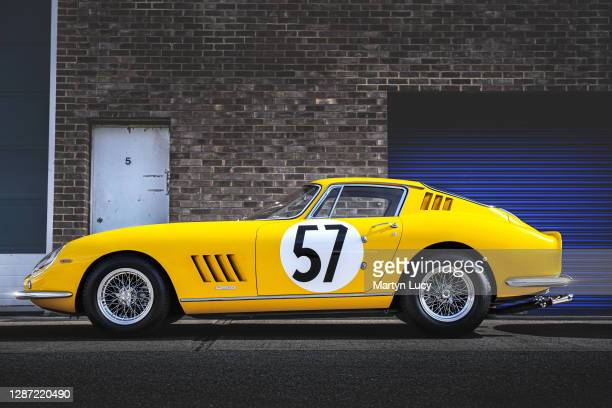 November 9: The Ferrari 275 GTBC seen at Joe Macari Performance Cars in Wandsworth, London. This car is one of twelve examples built after the...