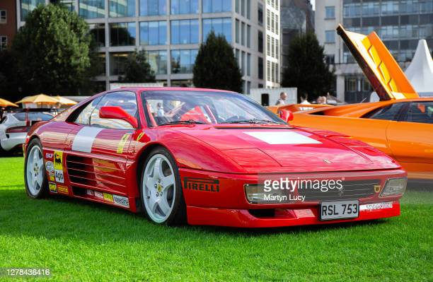 The Ferrari 348 Challenge seen at London Concours. Each year some of the rarest cars are displayed at the Honourable Artillery Company grounds in...