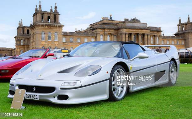 The Ferrari F50 seen at Salon Prive held at Blenheim Palace Each year some of the rarest cars are displayed on the lawns of the palace in the UK's...