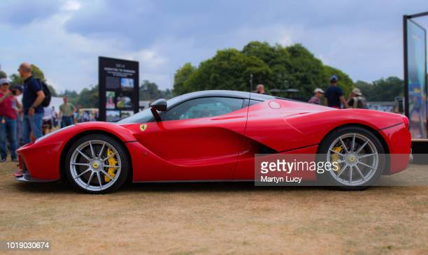 The Ferrari LaFerrari Displayed on the main lawn at Goodwood Festival of Speed 2018 The LaFerrari is based on findings from testing of the FXX cars...