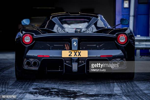 The Ferrari LaFerrari seen at Joe Macari Performance Cars Service Centre The hybrid supercar of which 499 were built was valued at over £1 Million...