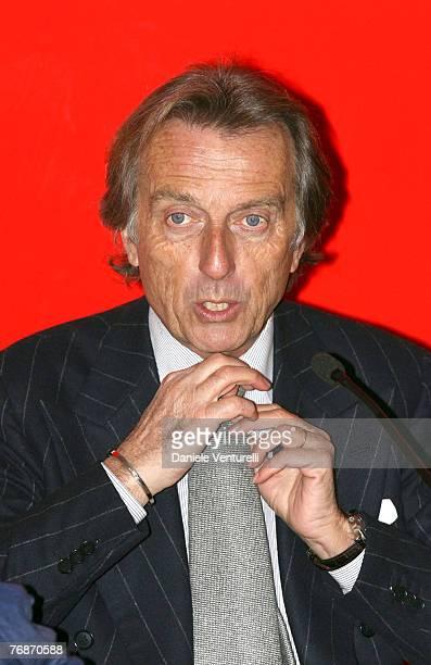 The Ferrari President Luca Cordero Di Montezemolo