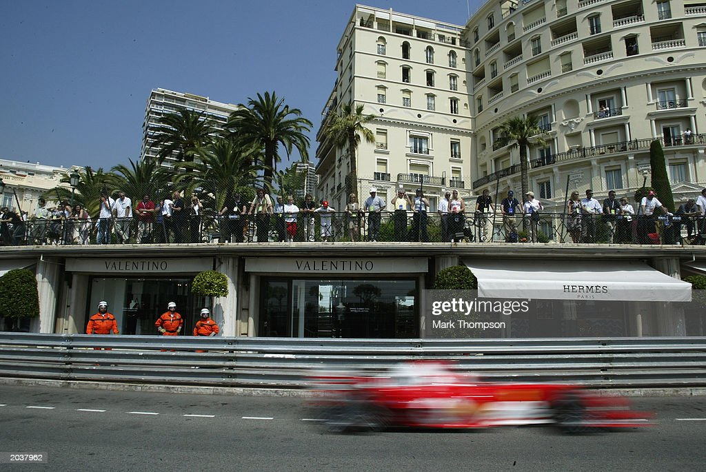The Ferrari Speeds Through The Streets Of Monte Carlo During Practice News Photo Getty Images