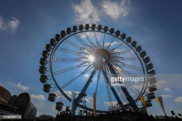 The ferries wheel on Day 12 of the Oktoberfest The Oktoberfest is the largest Volksfest in the world It will take place until Sunday October 7