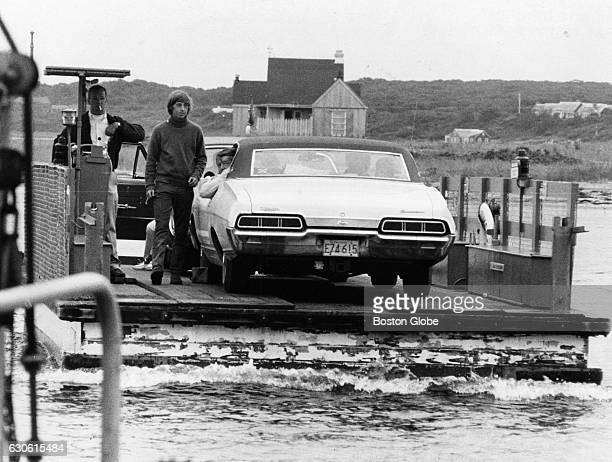 The ferry between Edgartown Mass and Chappaquiddick Island Mass on July 22 1969