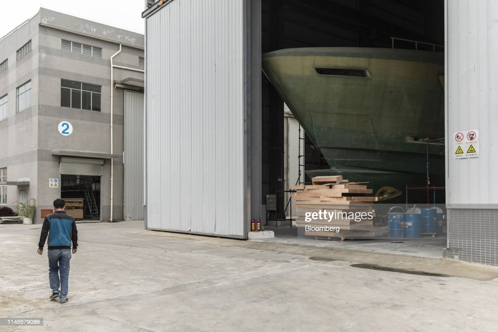 CHN: Yacht Building At Heysea Yachts Group Ltd. Shipyard