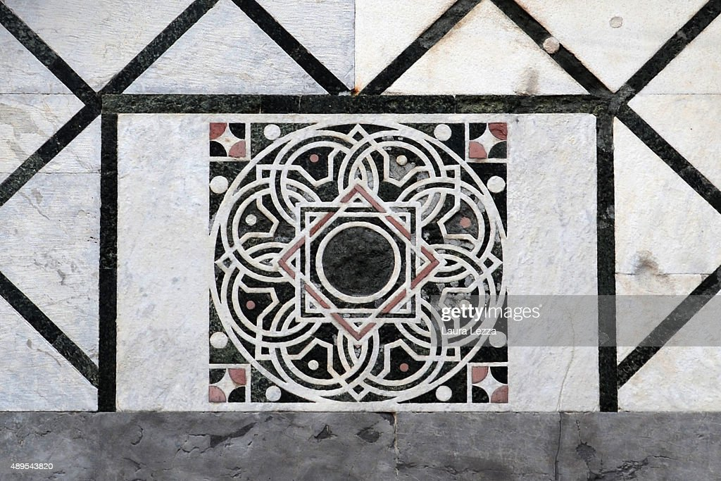 Fibonacci Series Discovered On The Facade Of San Nicola Church In Pisa : News Photo