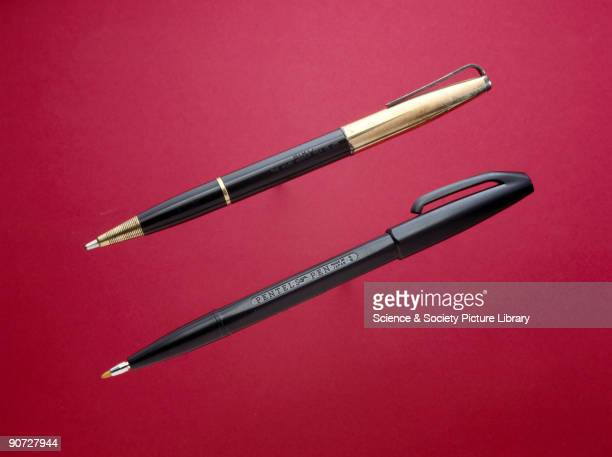The fibretip pen was invented in Japan in 1962 by Masao Miura and Yukio Horie It appeared in Britain in 1967 The radically new writing device with...