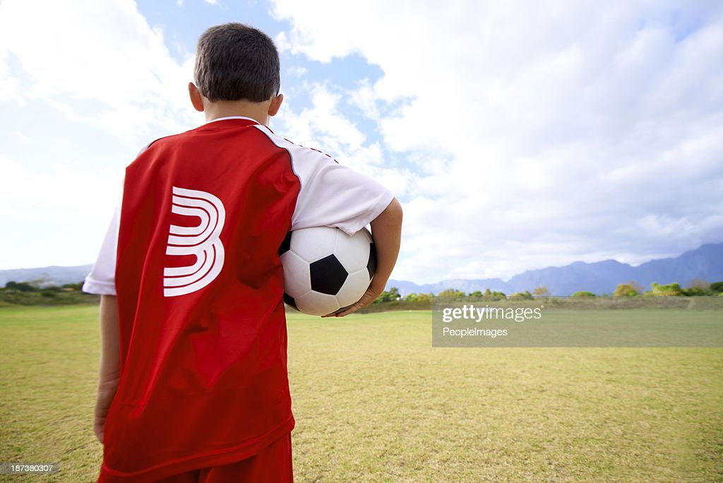 The field holds promise : Stock Photo