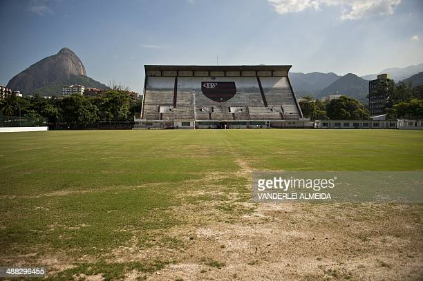 The field of the Clube de Regatas do Flamengo in Rio de Janeiro Brazil on May 5 where the Dutch national football team will train during the FIFA...