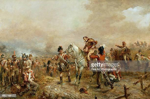 The Field of Waterloo by Robert Alexander Hillingford