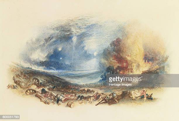 The Field of Waterloo Seen from Hougoumont c 1830 Private Collection Artist Turner Joseph Mallord William