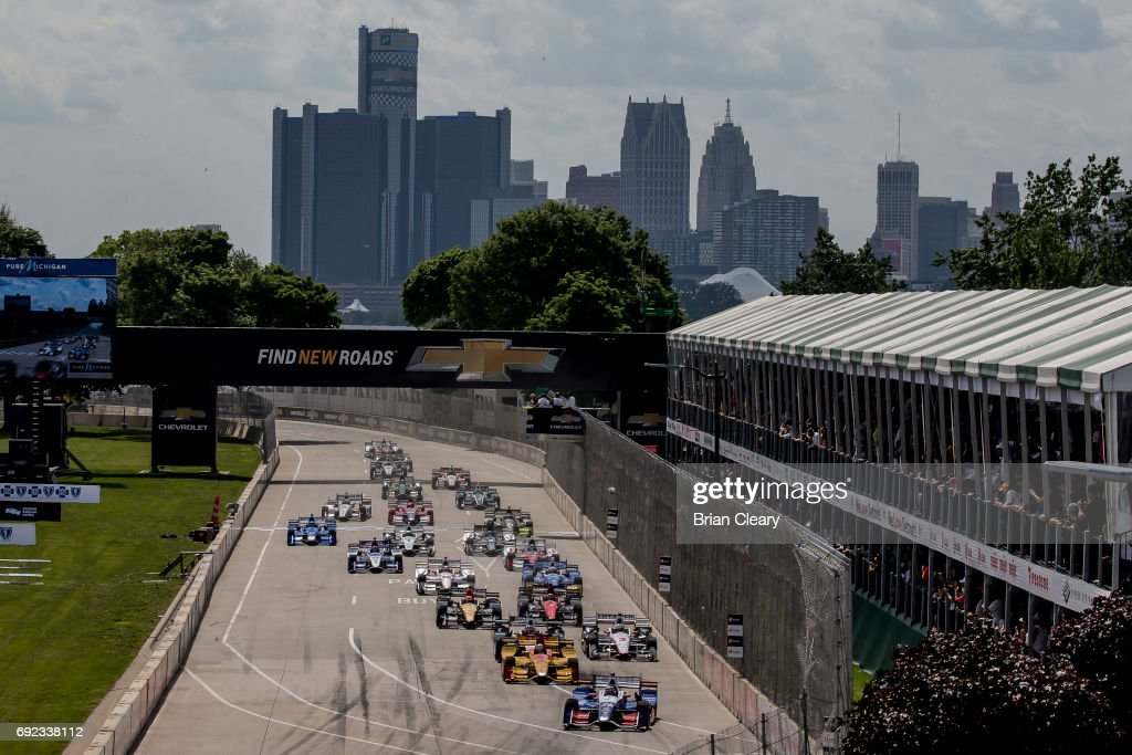 Chevrolet Detroit Grand Prix presented by Lear at Belle Isle Park : News Photo