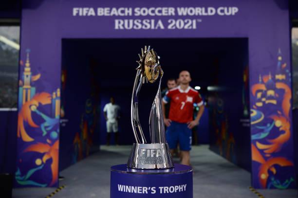 RUS: Football Union of Russia v Japan - FIFA Beach Soccer World Cup 2021
