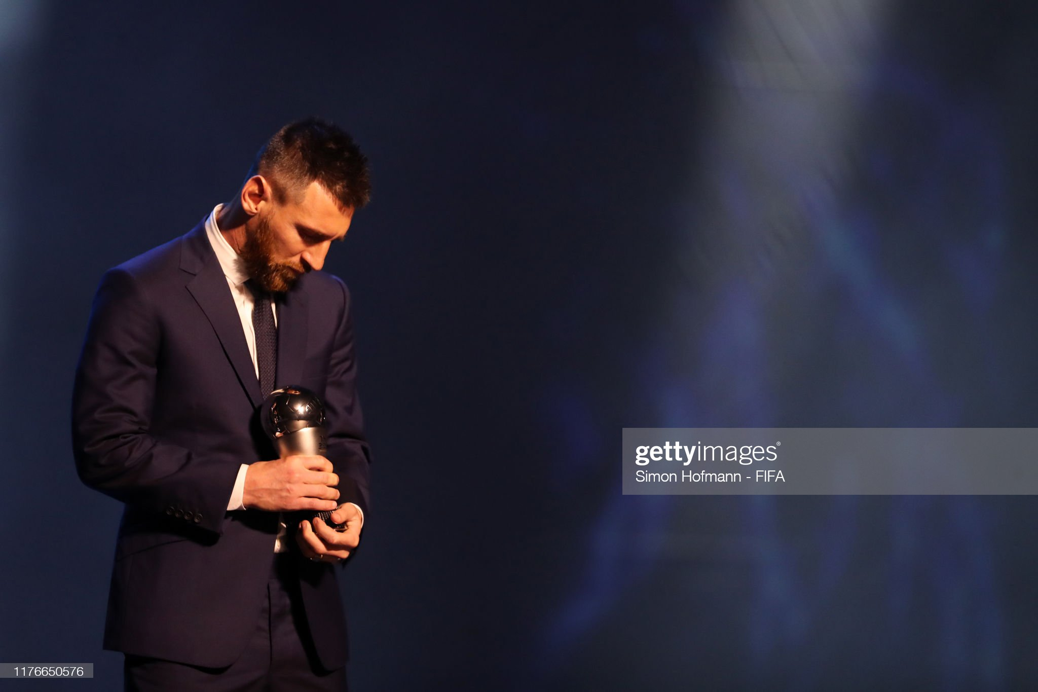 The Best FIFA Football Awards 2019 The-fifa-fifpro-mens-world11-award-winnner-lionel-messi-of-fc-and-picture-id1176650576?s=2048x2048