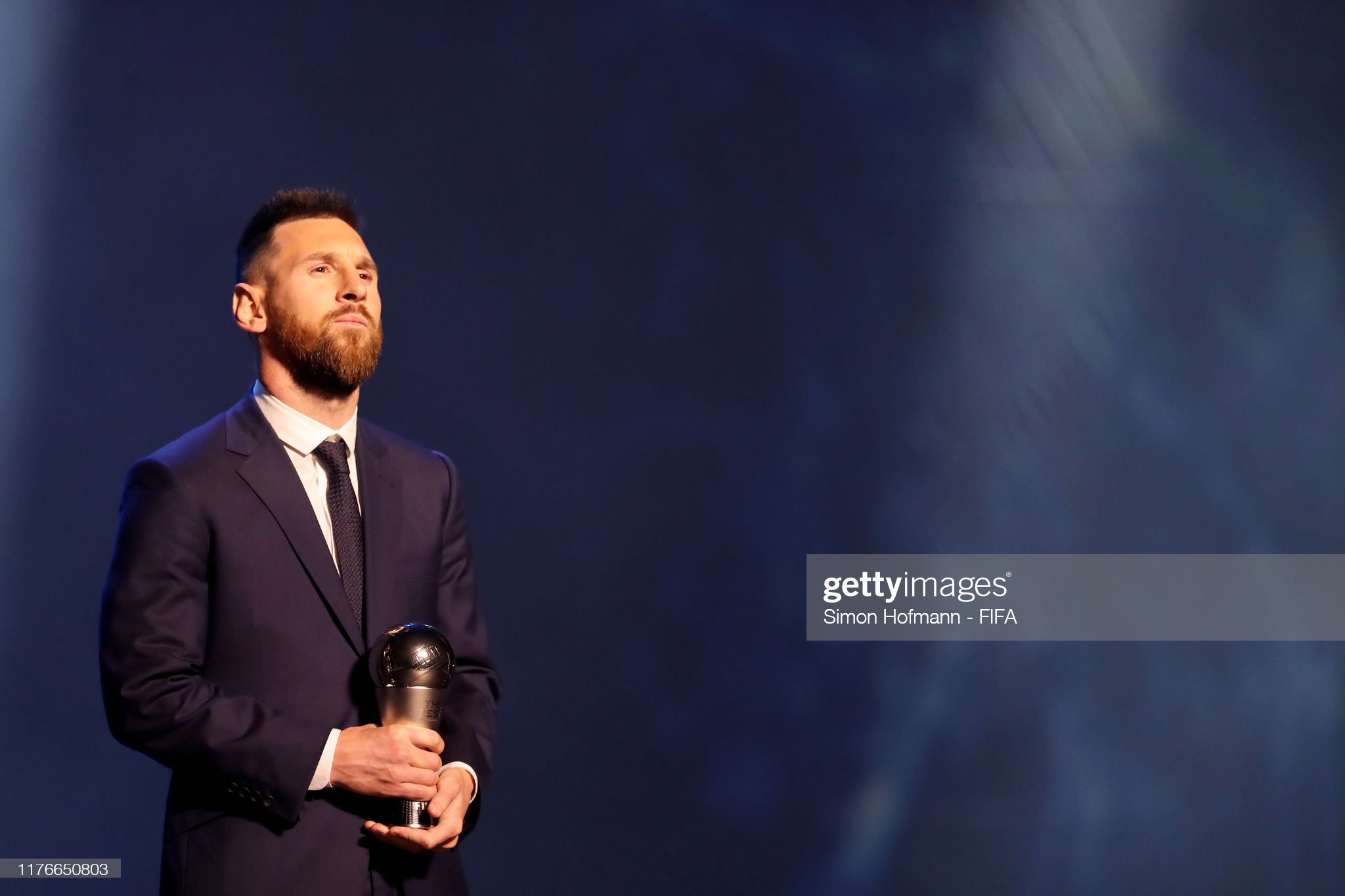 The Best FIFA Football Awards 2019 The-fifa-fifpro-mens-world11-award-winnner-lionel-messi-of-fc-and-picture-id1176650803?s=2048x2048
