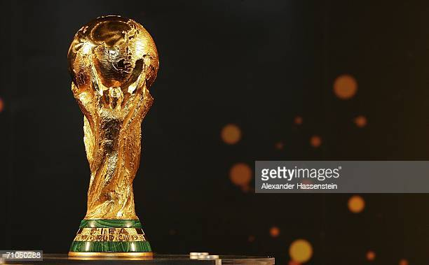 The FIFA World Cup is pictured at the city hall on May 25 2006 in Hamburg Germany The FIFA World Cup will be presented to the public on May 26 2006...