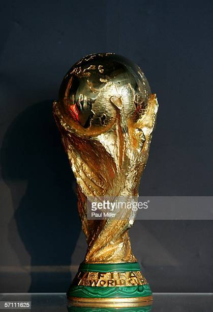 The FIFA World Cup Trophy today went on display at the Overseas Passenger Terminal where the FIFA World Cup Trophy on March 17 2006 in Sydney...