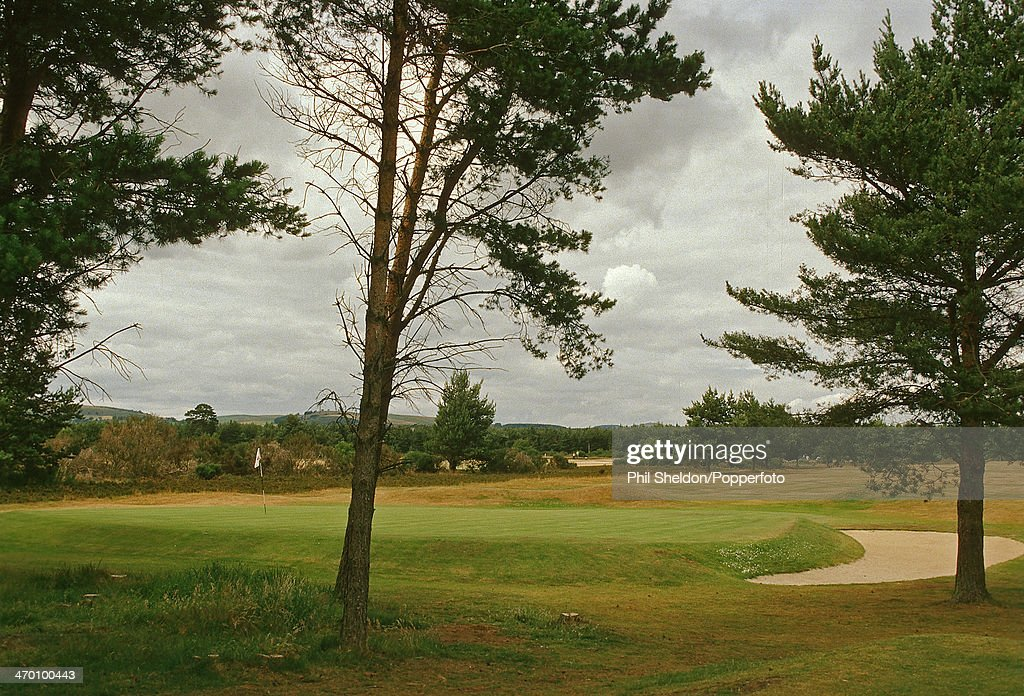The Fifth Hole Of The Ladybank Golf Club Pictures Getty Images