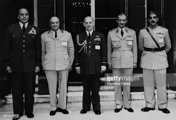 The Fifth Meeting Of Bagdad Treaty On July 1958 In London