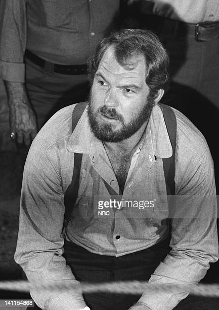 PRAIRIE The Fighter Episode 10 Aired Pictured Merlin Olsen as Jonathan Garvey Photo by Ted Shepherd/NBCU Photo Bank