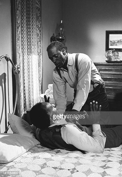 PRAIRIE The Fighter Episode 10 Aired Pictured Raymond St Jacques as Manager L Moody Moses Gunn as Joseph 'Joe' Kagan Photo by Ted Shepherd/NBCU Photo...