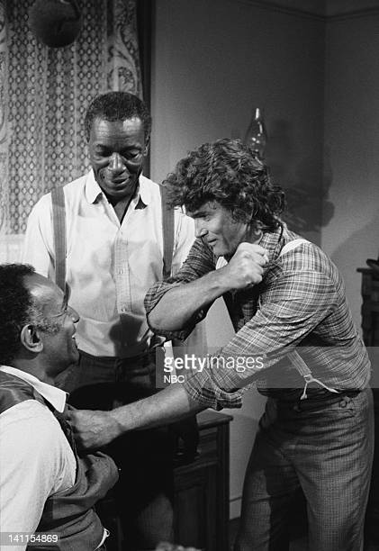 PRAIRIE The Fighter Episode 9 Aired Pictured Raymond St Jacques as Manager L Moody Moses Gunn as Joseph 'Joe' Kagan Michael Landon as Charles Ingalls...
