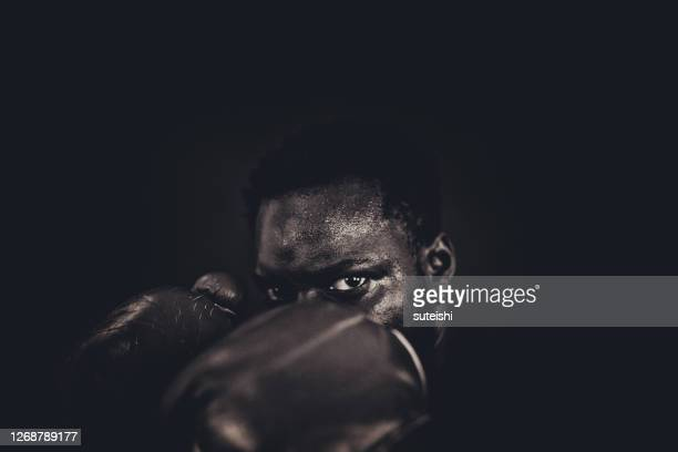the fighter - boxing stock pictures, royalty-free photos & images