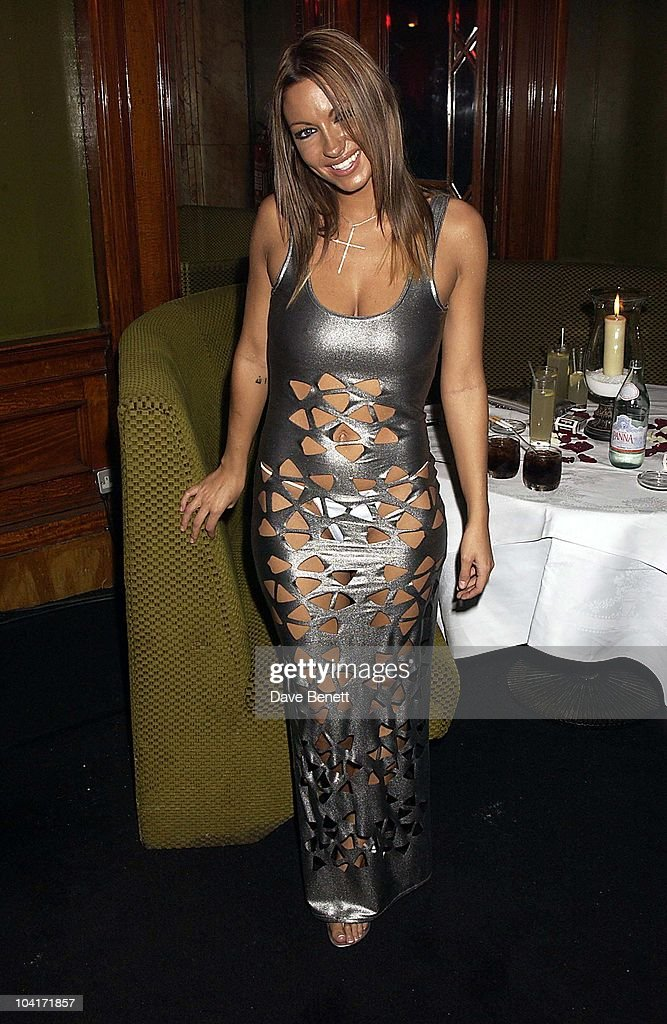 The Fighting Temptations Premiere After, Party At The Alantic Bar, London 053305, Jodie Marsh