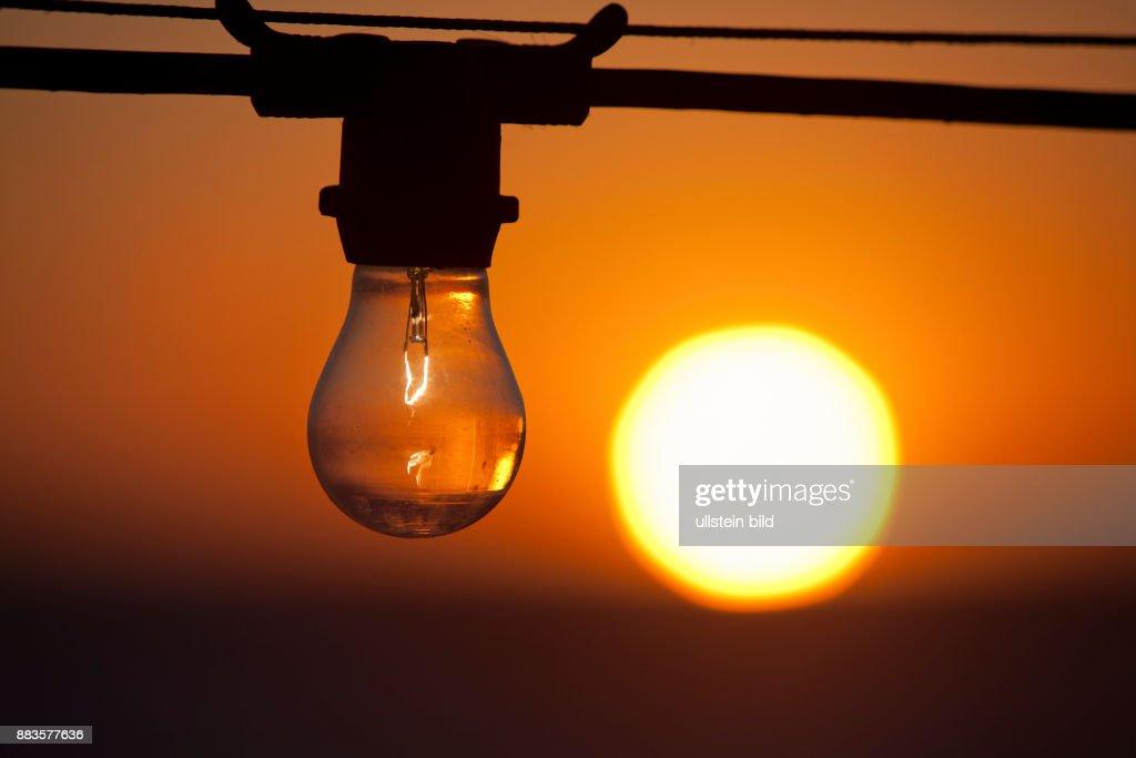 Nice Light Bulb Vs. Sun