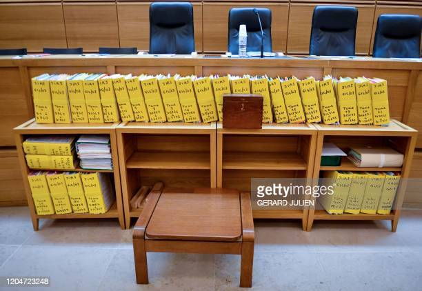 The files in the case of the former honorary consul of Poland in Monaco Wojciech Janowski are displayed in the Assize Court of Appeal of...