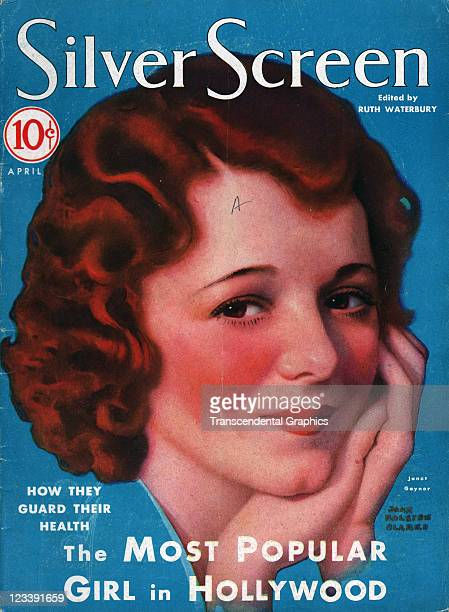 The film actress Janet Gaynor is the cover girl for Silver Screen magazine published in New York City in April of 1931