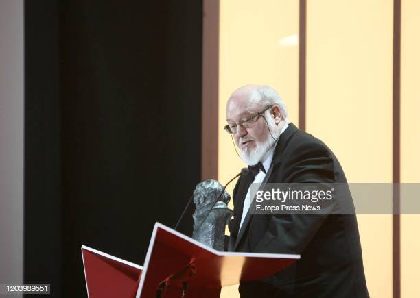 The film director Jose Luis Cuerda has died this Tuesday at the age of 72 in Madrid In the image the director during the presentation of the XXIII...