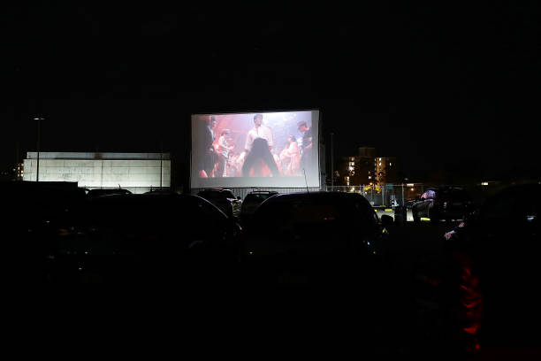 AUS: Sydney Outdoor Cinema Reopens As Drive In As Coronavirus Restrictions Ease