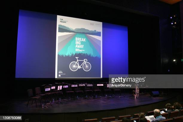 "The Film Independent Screening Series Presents Live Read Of ""Breaking Away"" at Wallis Annenberg Center for the Performing Arts on February 25, 2020..."