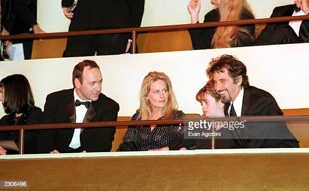 The Film Society of Lincoln Center Gala Tribute to Al Pacino at Avery Fisher Hall Kevin Spacey Beverly D'Angelo Julie Pacino Al Pacino Photo by Evan...