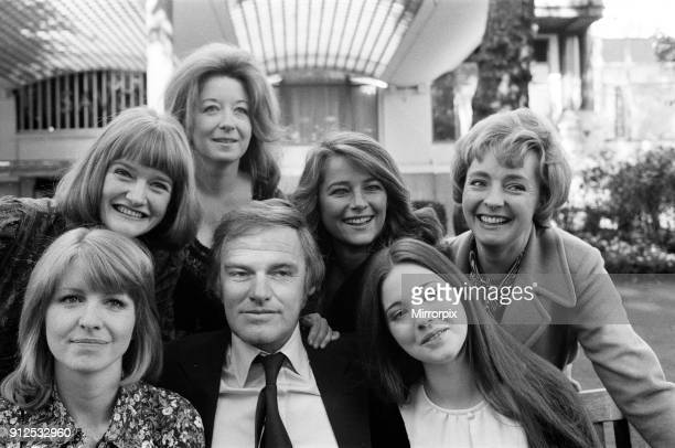The film version of Henry VIII is set to be made starring Keith Mitchell he is pictured with his six wives Jane Asher Charlotte Rampling Frances Cuka...