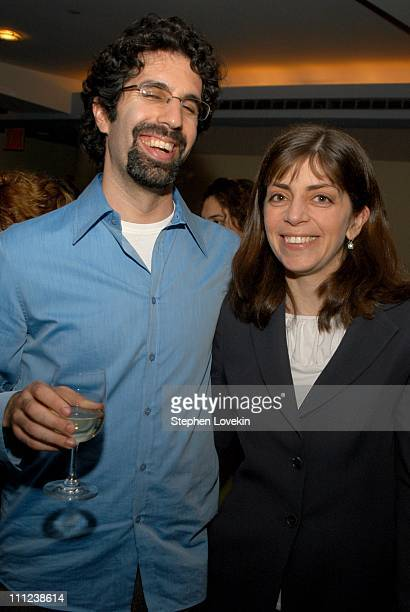 The film's Director Jeff Blitz and Nancy Abraham of HBO