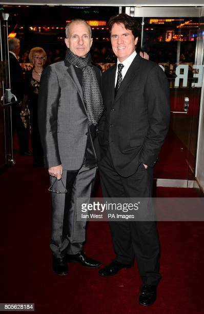 The films producer John DeLuca and director Rob Marshall arriving for the world premiere of Nine at the Odeon Leicester Square London