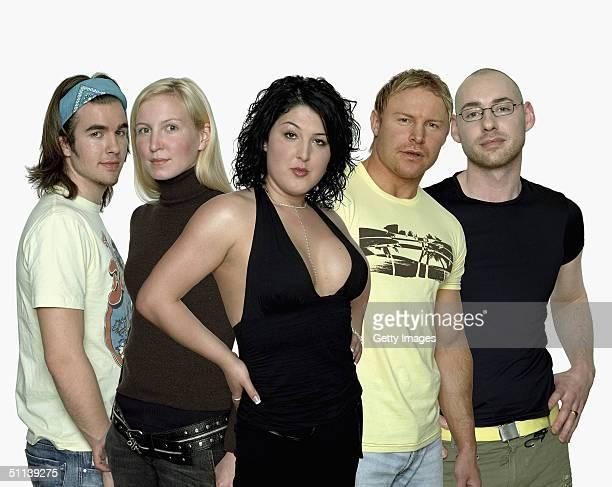 The final 5 Big Brother V housemates Stuart Wilson, Shell Jubinare, Nadia Almada, Jason Cowan and Daniel Bryan are seen in this publicity shot,...